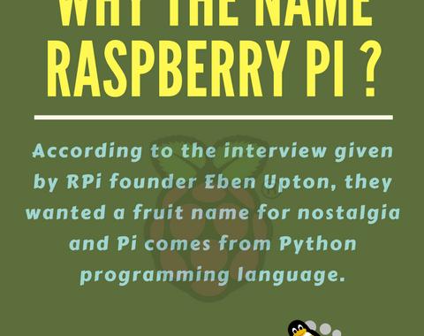 why name raspberry pi